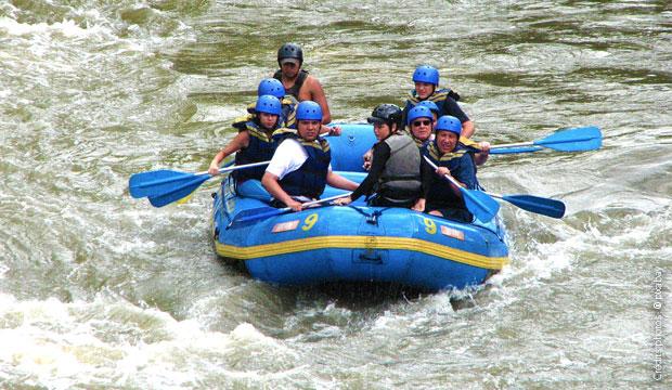 sports en eaux vives, rafting